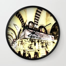 Spice Bazaar Istanbul Art Wall Clock