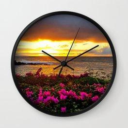 West Maui Sunset Wall Clock