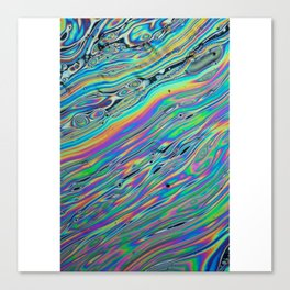 colour pattern reflection fun 2018 water color Canvas Print