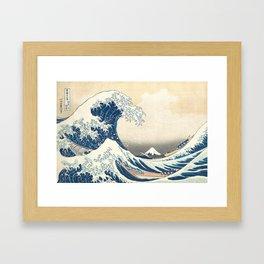 The Great Wave - ca. 1830-32, Katsushika Hokusai Framed Art Print