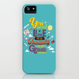 Art and Insanity iPhone Case