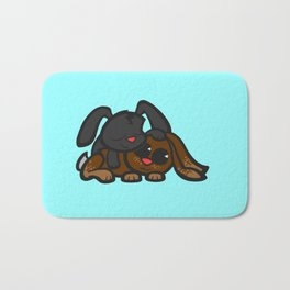 Cuddle Bunnies Bath Mat