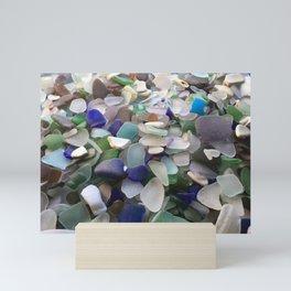Sea Glass Assortment 2 Mini Art Print
