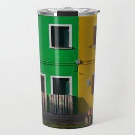 Colored Burano Travel Mug