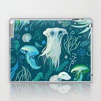 Aqua pattern Laptop & iPad Skin