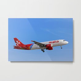 Air Malta Metal Print