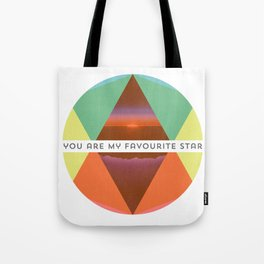 You are my favourite Star Tote Bag