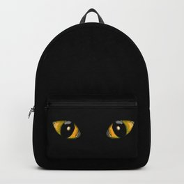 Halloween Cat Eyes Backpack