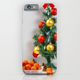 Desktop Wallpapers Christmas Mandarine Christmas t iPhone Case
