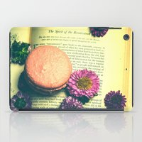 macaroon iPad Cases featuring The Spirit of the Renaissance  by Olivia Joy StClaire