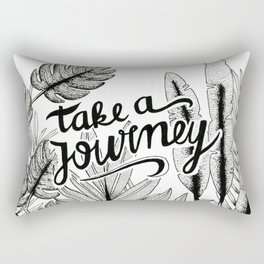 Take a journey Rectangular Pillow