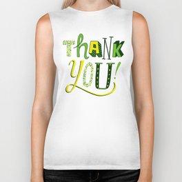 Thank You! Biker Tank