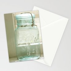 Jars of the Past Stationery Cards
