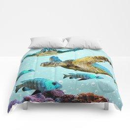 Sea Turtles Comforters