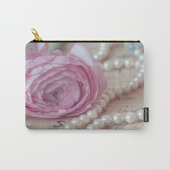 Pink Luxury Carry-All Pouch