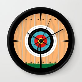 On Target Wall Clock