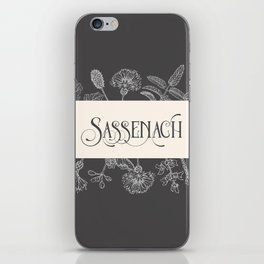 Sassenach iPhone Skin