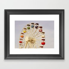 Ferris Wheel Framed Art Print