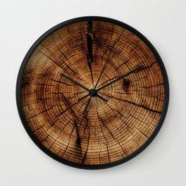 Tree Rings Wall Clock