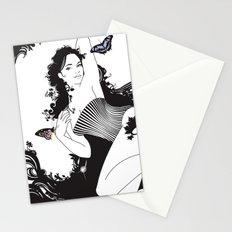Black Nimf Stationery Cards