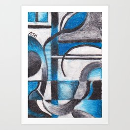 02. Flow of Thought Art Print