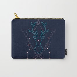 sacred geometry deer print Carry-All Pouch