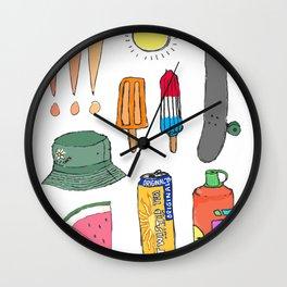smmr tings Wall Clock