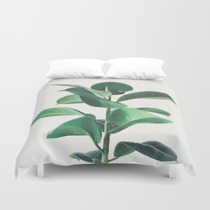 Rubber Fig Duvet Cover