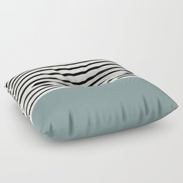 River Stone & Stripes Floor Pillow