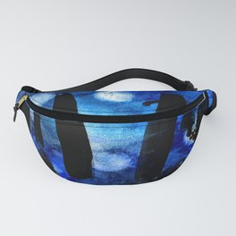 Three moons and the stones Fanny Pack