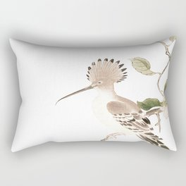Japan Spring Flowers and Birds Rectangular Pillow