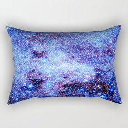 GAlaxy Periwinkle Stars Rectangular Pillow