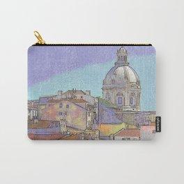 Santa Ingrácia church and Alfama rooftops, Lisbon Carry-All Pouch
