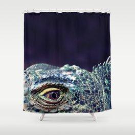 Fabulous Lizard Shower Curtain