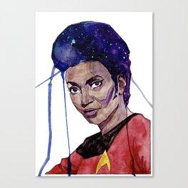 Lieutenant Uhura Canvas Print
