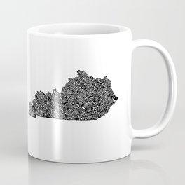 Typographic Kentucky Coffee Mug
