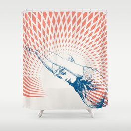 Exercise One Shower Curtain