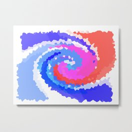 Twirly Whirly  Metal Print