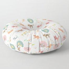 Cat Pattern 3 Floor Pillow