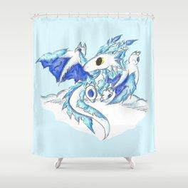 Baby Ice Wyvern Shower Curtain