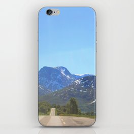 Never Over For Me iPhone Skin