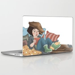 Reading Laptop & iPad Skin