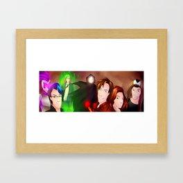 The Youtube Team Framed Art Print