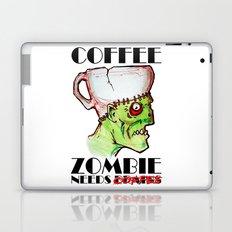 coffee zombie Laptop & iPad Skin