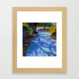 Burgess Park Framed Art Print