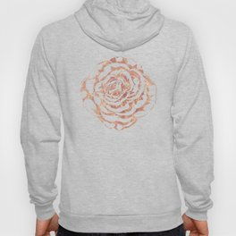 Elegant romantic rose gold roses pattern image Hoody