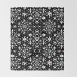 Snowflake Lace Throw Blanket