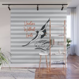 Sea adventure. Vacations without limits Wall Mural