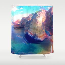 Dona Ana Beach Ocean Melody Shower Curtain