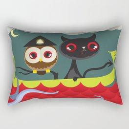The Aleister & the Pussycat Rectangular Pillow
